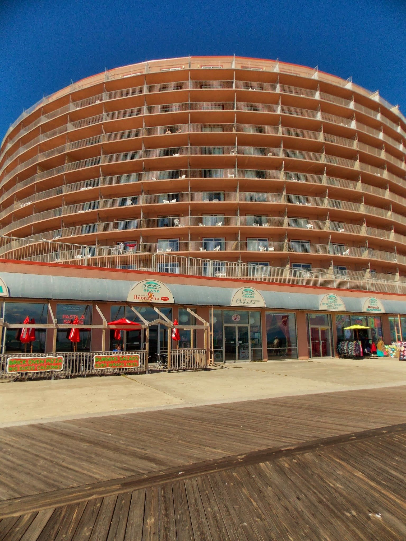 The Grand Hotel 9 27 2017 Ocean City Md Boardwalk Lea