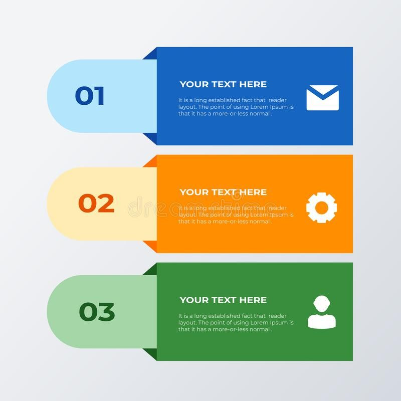 Three List Infographic Template Design Business Concept Infograph With 3 Option Sponsored Affiliate Sp Infographic Templates Template Design Infographic