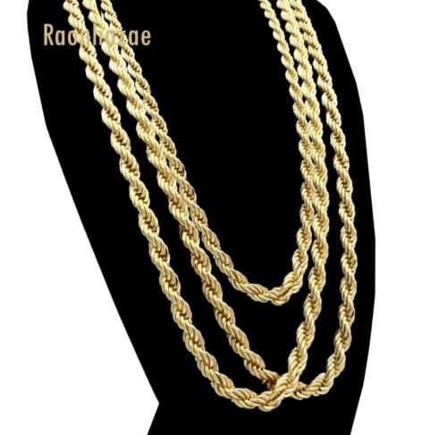 Mens Gold Rope Chain Diamond Cross Necklace Gold Gold Chains For Men Diamond Cross Necklaces