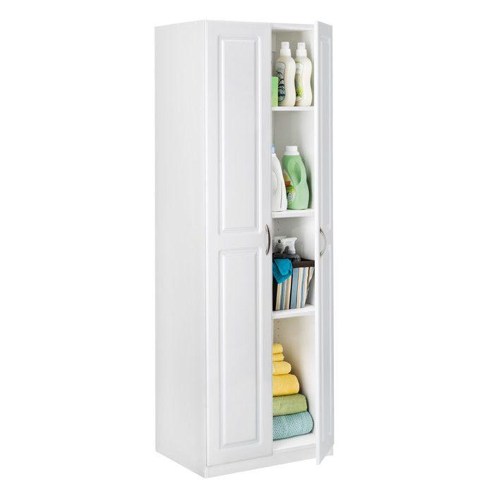 Closetmaid Dimensions 71 73 H X 24 02 W 18 12 D 2 Door Storage Cabinet Reviews Wayfair