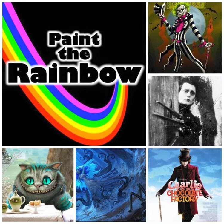 Image of Paint the Rainbow box - October 2015