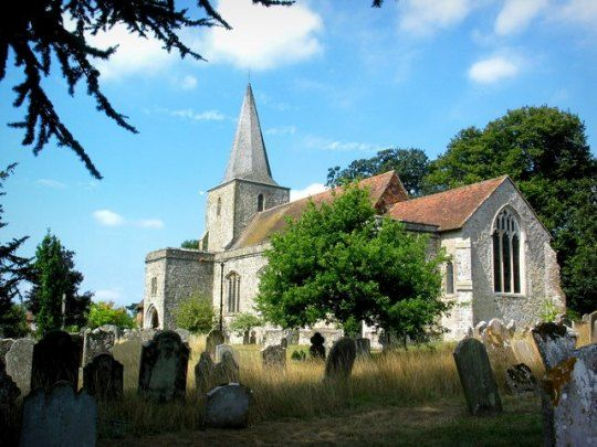 Pluckley, reported as being the most haunted village in England