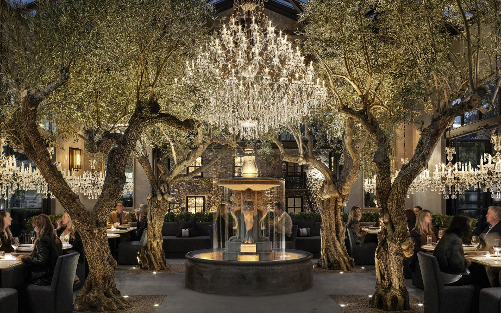 Rh Opens Stunning Marketplace In The Heart Of Napa Valley Galerie In 2020 Yountville Restoration Hardware Wine Vault