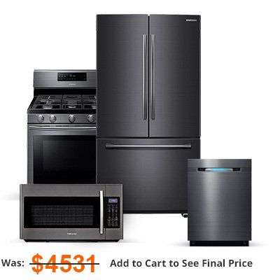 KITCHEN APPLIANCES...black stainless steel /smudge proof :)