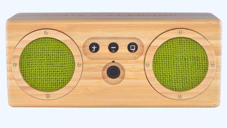 Havana Bongo is a portable speaker controlled wireless through