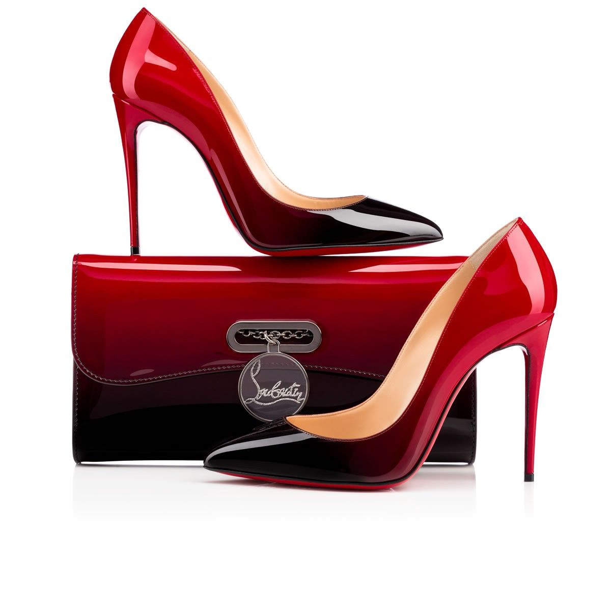 christian louboutin pigalle follies red and black