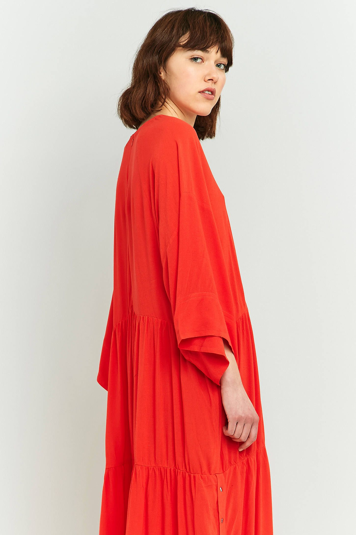Slide View: 6: LF Markey Ricky Red Dress