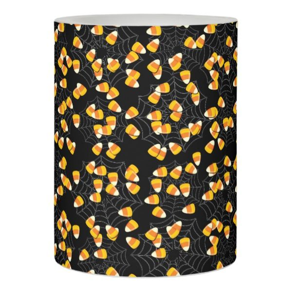 Candy Corn Flameless Candle Fully Customizable Gifts #halloween #Spookie #creepyhollow #candles