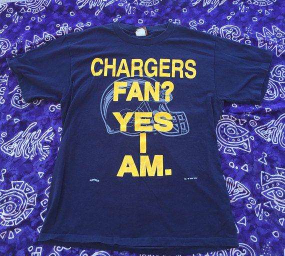 1994, NFL San Diego Chargers Shirt