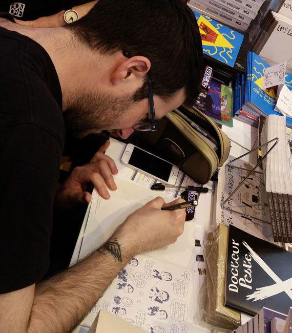 Salon du Livre 2015 - Paka, photographié par Tim