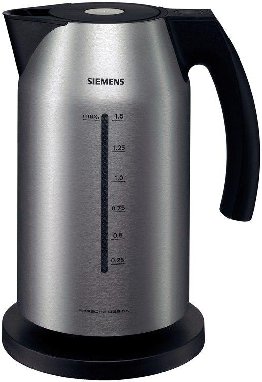 Siemens Porsche Design Cordless Kettle | Design Products / Productos ...