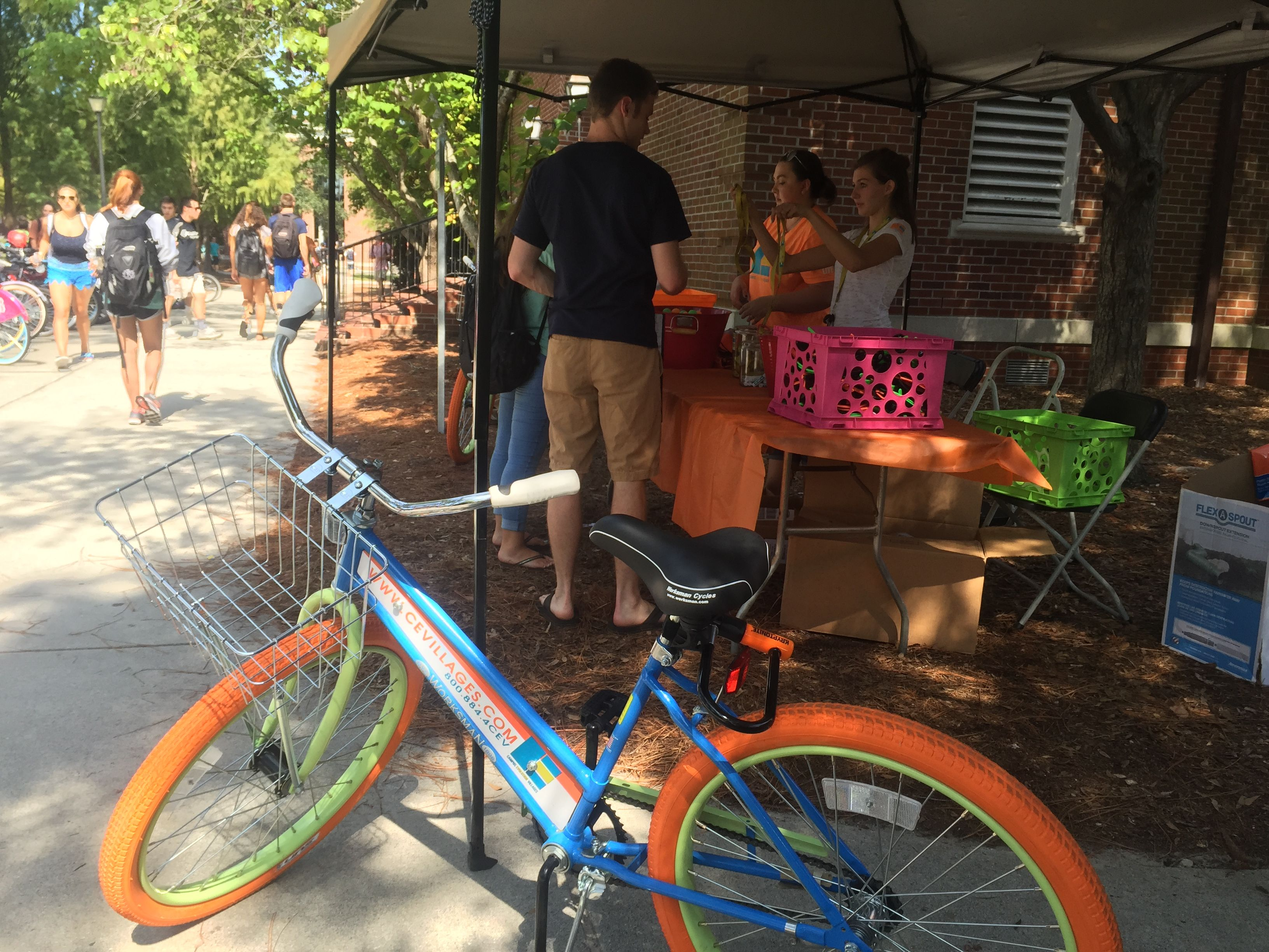 Cev Bikes Take Over Uncw S Campus Livebigcev With Images