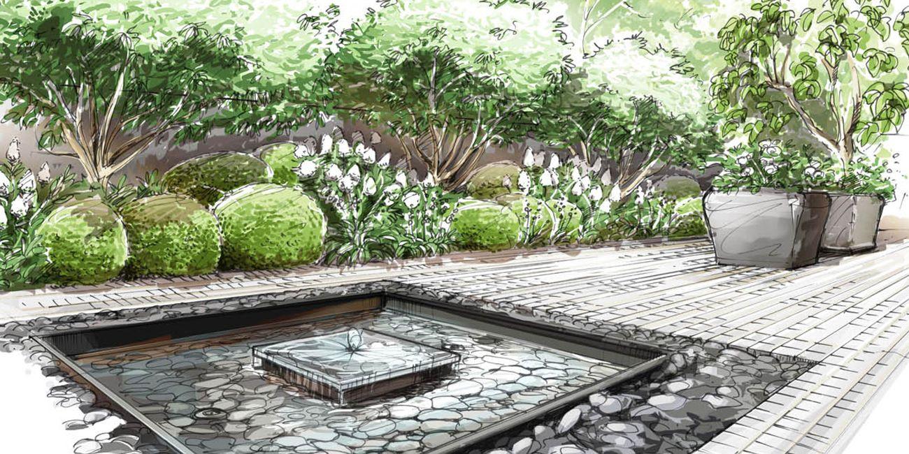 Jardin de ville neuilly sur seine loup co for Jardin a dessiner