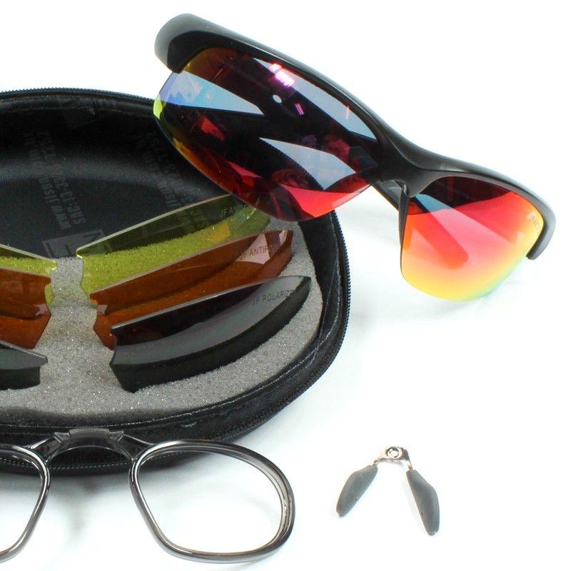 9b876c8db7 Óculos de sol JF SUN Byron Premium - Troca de Lentes C/ Adaptador p ...
