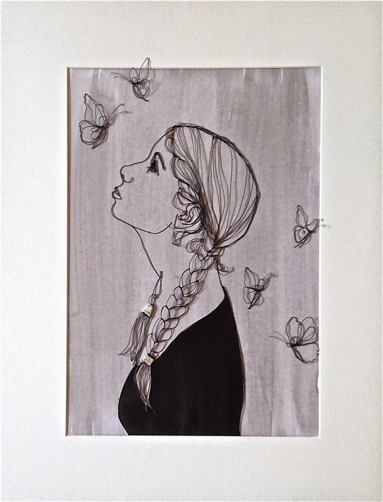 sculptural drawing by christina james nielsen: Presentation of ...