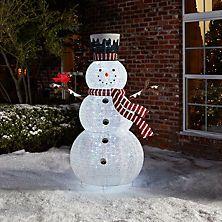 shop sams club for big savings on outdoor christmas dcor members mark 72 pop up snowman with cardinal