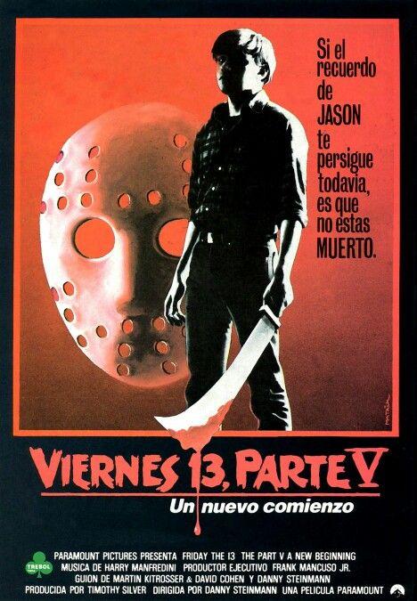 Friday The 13th Part 5 1985 Viernes 13 Viernes Viernes 13 Pelicula
