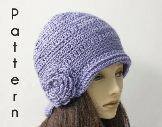 b6bb38ff422 Flapper Hat Crochet Pattern