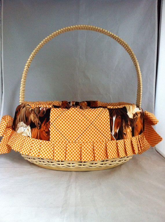 Jumbo horse lovers handwoven easter or nursery basket for a girl jumbo horse lovers handwoven easter or nursery basket for a girl negle Image collections