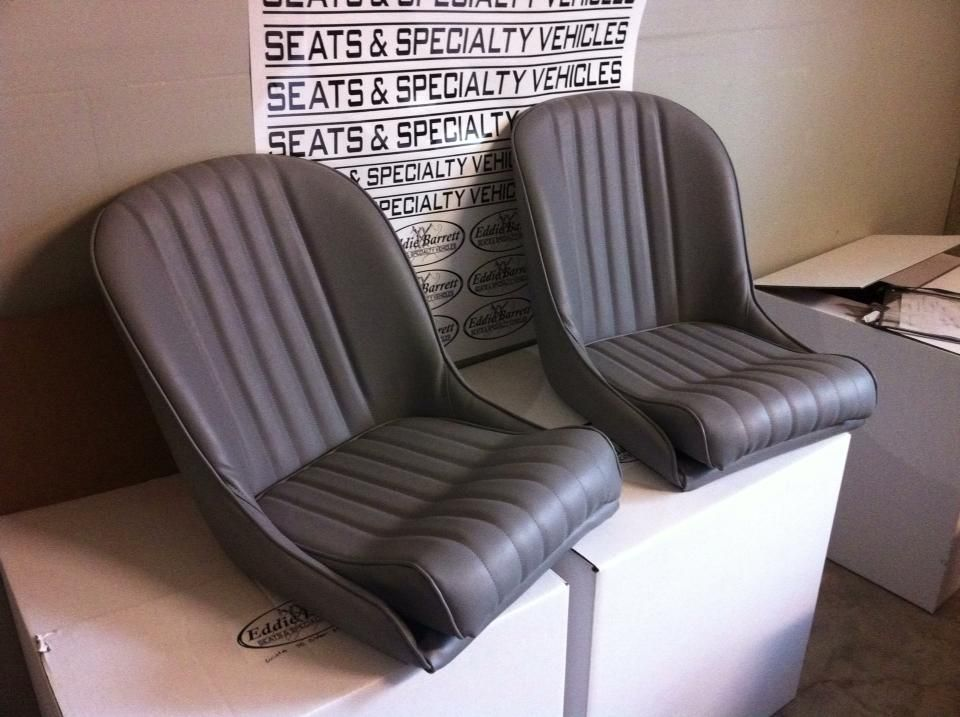 Sb Low Back Bucket Bomber Style Seats Standard Pleat All