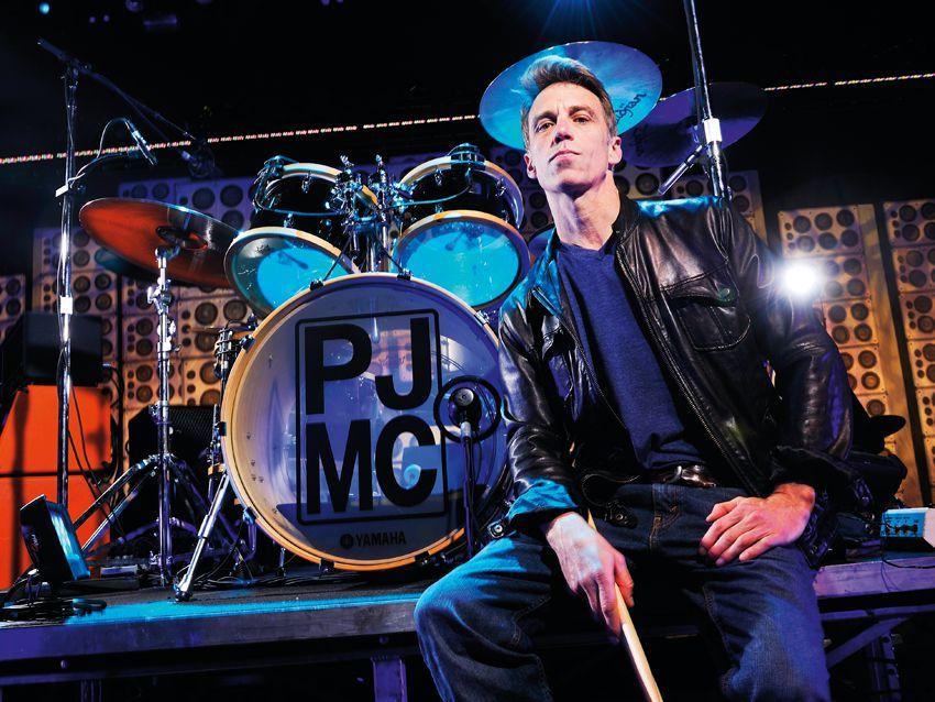 Matt Cameron S Pearl Jam Drum Setup In Pictures Pearl Jam Matt