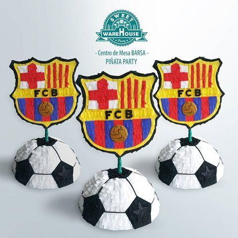 Resultado De Imagen Para Centros De Mesa De Futbol Dad Birthday Diy And Crafts Barcelona