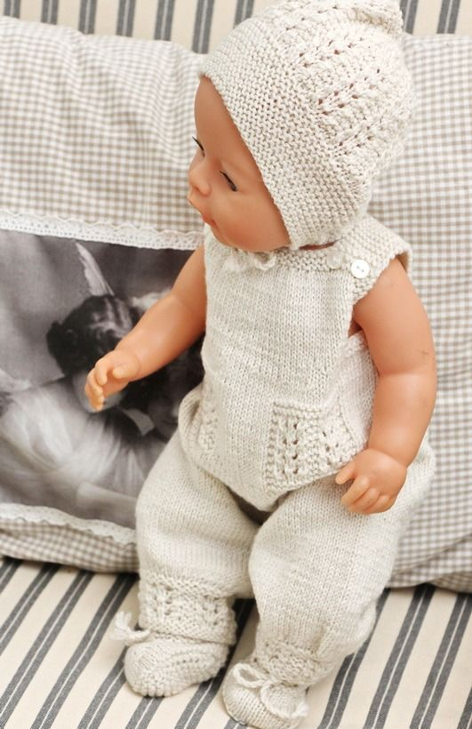 Baby Dolls Clothes Knitting Patterns | Puppenkleider | Pinterest ...