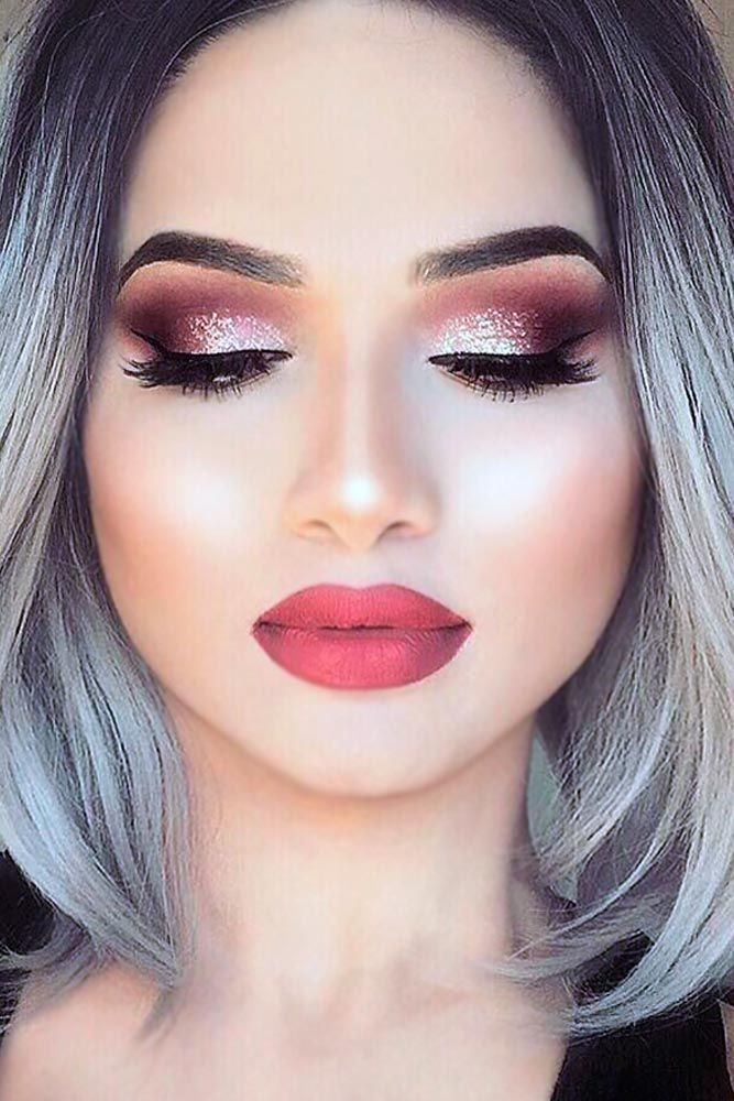 21 sexy makeup ideas for valentines day makeup makeup. Black Bedroom Furniture Sets. Home Design Ideas