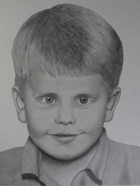 Pencil portrait drawing of Tyler
