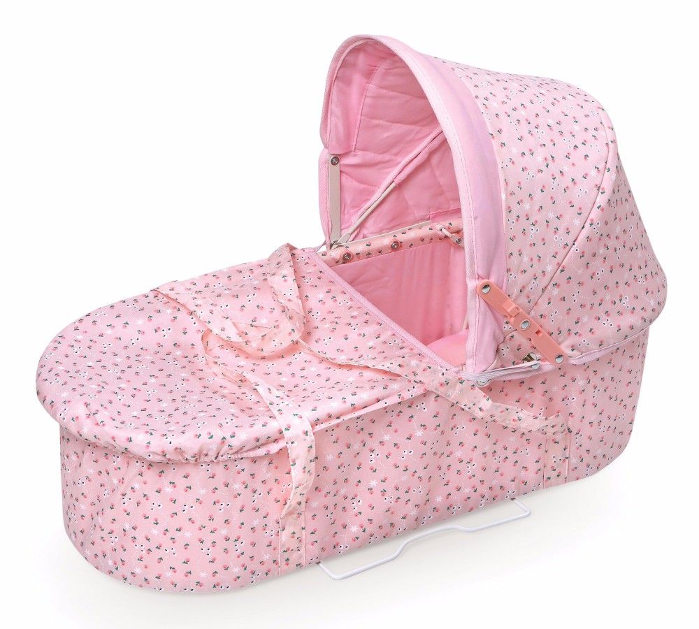Just Like Mommy 3in1 Doll Pram/Carrier/Stroller in Pink
