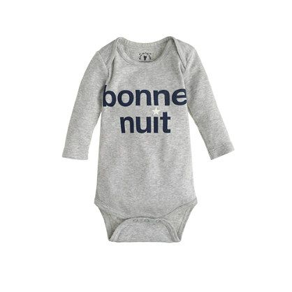 Baby Bonne Nuit One Piece Exploded Graphic Sports