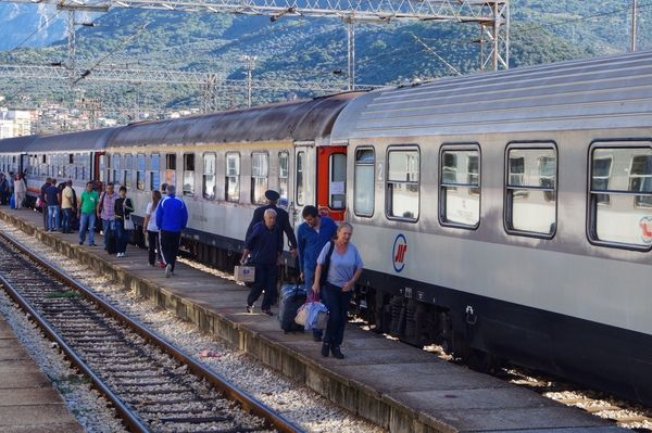 Bar, Belgrade to Bar Railway
