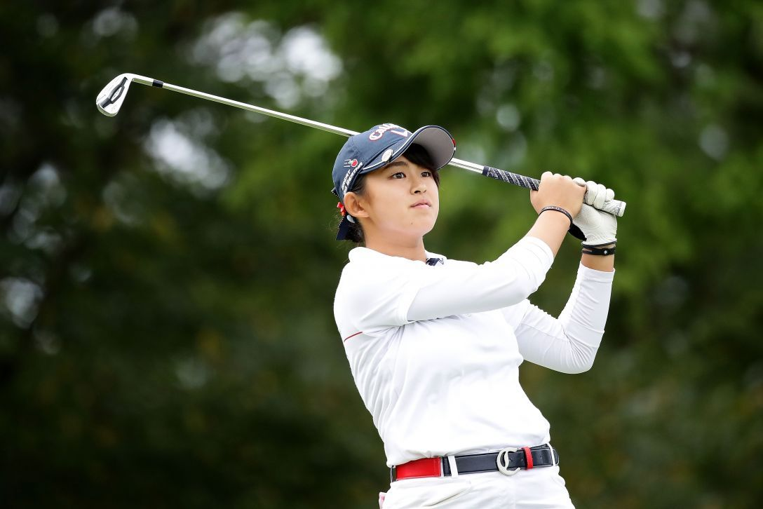 史上初のアマチュアでの公式戦Vに王手をかけた|日本女子オープンゴルフ選手権競技 3日目 長野未祈 <Photo:Chung Sung-Jun/Getty Images>