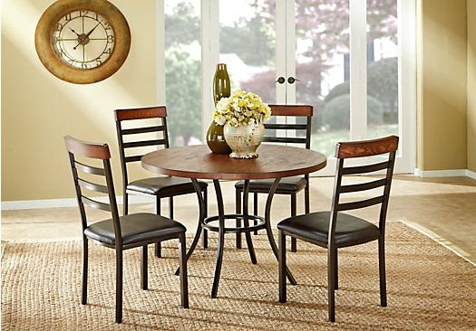 b1c0b69aa1 Shop for a Cafe Vienna 5 Pc Dining Room at Rooms To Go. Find Dining Room  Sets that will look great in your home and complement the rest of your  furniture.