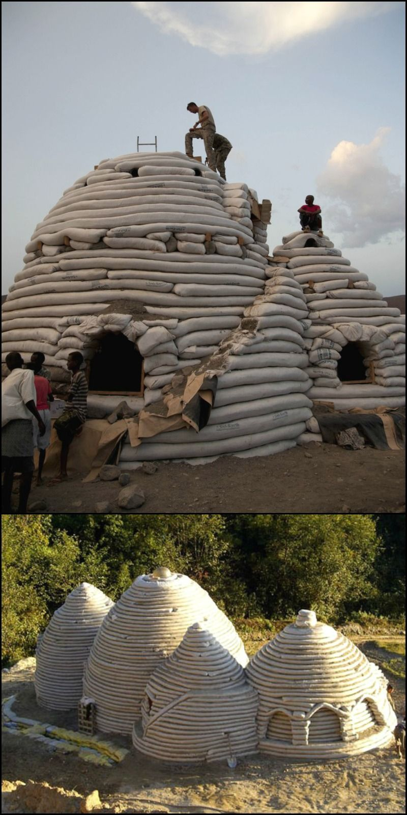 Superadobe Fluid Surprisingly Easy Immensely Strong And Low Cost Build A Guest Room A Home Office Or A Whole Ho Earth Bag Homes Places To Visit Field Trip