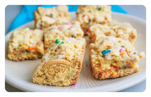 cake batter blondies.