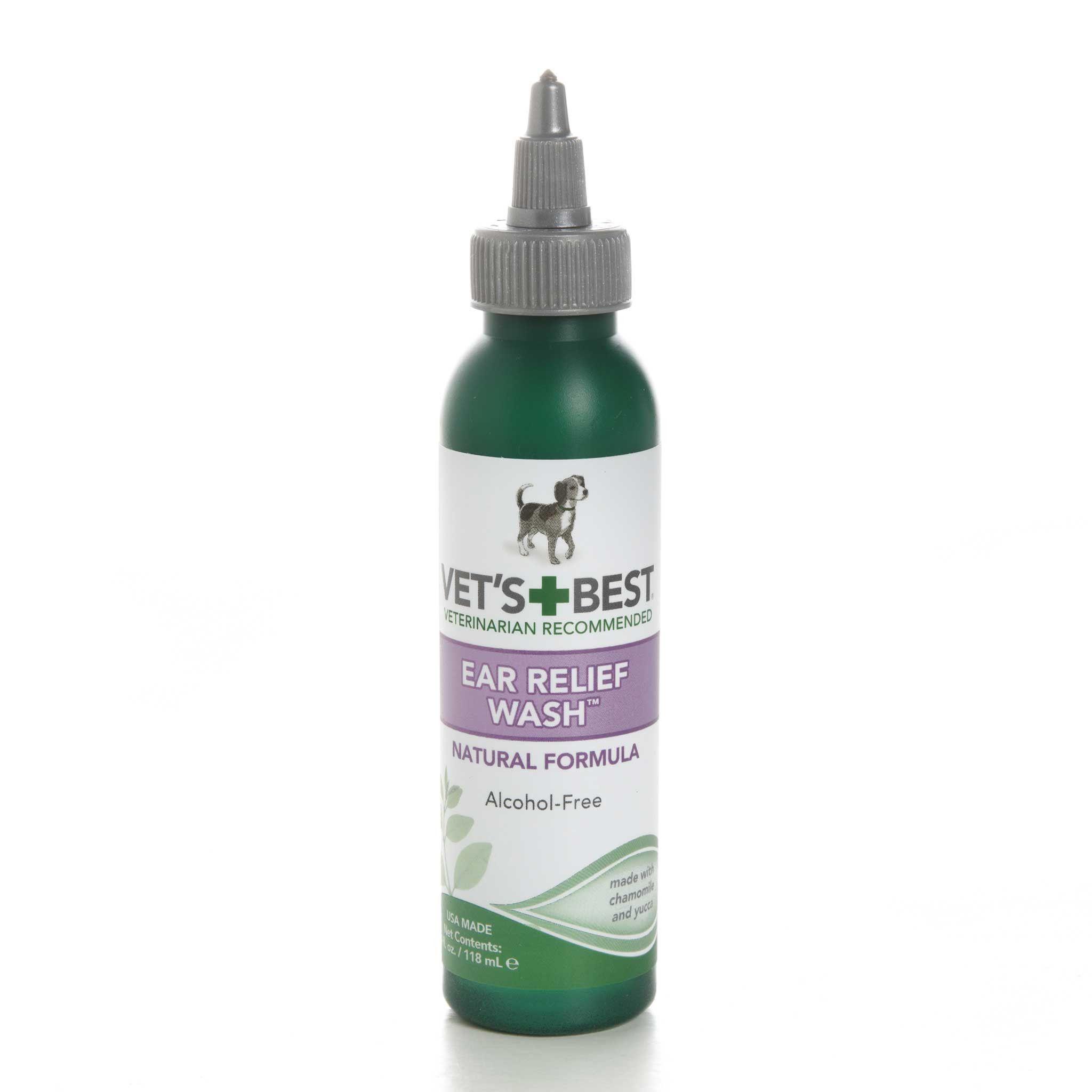 Vet's BestEar Relief Wash Dog ear wash, Dental care, Dental