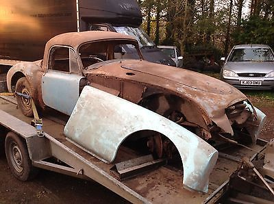 EBay MG A COUPE 1960 FOR RESTORATION OR SPARES BARN FIND