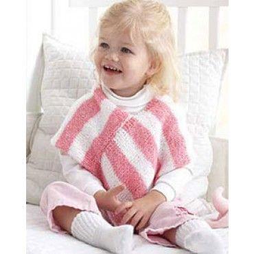 Mary Maxim - Free Sweet Stripes Poncho Knit or Crochet Pattern ...
