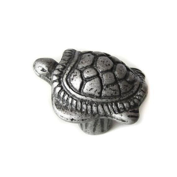 Dresser Knob Drawer Knobs Pulls Handles Turtle Childrens Animal Baby ...