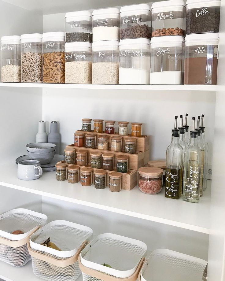 6 Steps to Creating a No-Fail Kitchen Pantry | Hunker