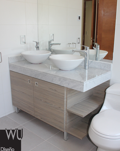 Vanitorio m rmol carrara ba o en 2019 pinterest bathroom y home - Banos con marmol travertino ...