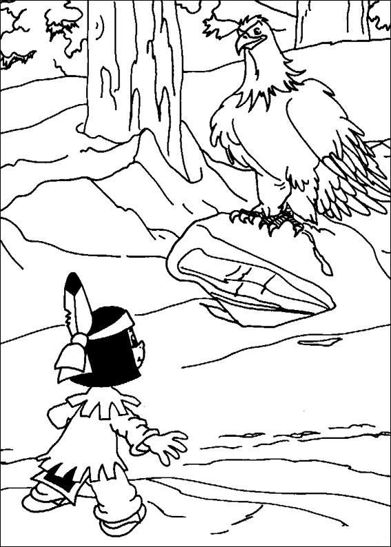 27 Coloring Pages Of Yakari On Kids N Fun Co Uk On Kids N Fun You Will Always Find The Bes In 2021 Kids Printable Coloring Pages Coloring Pages Cartoon Coloring Pages