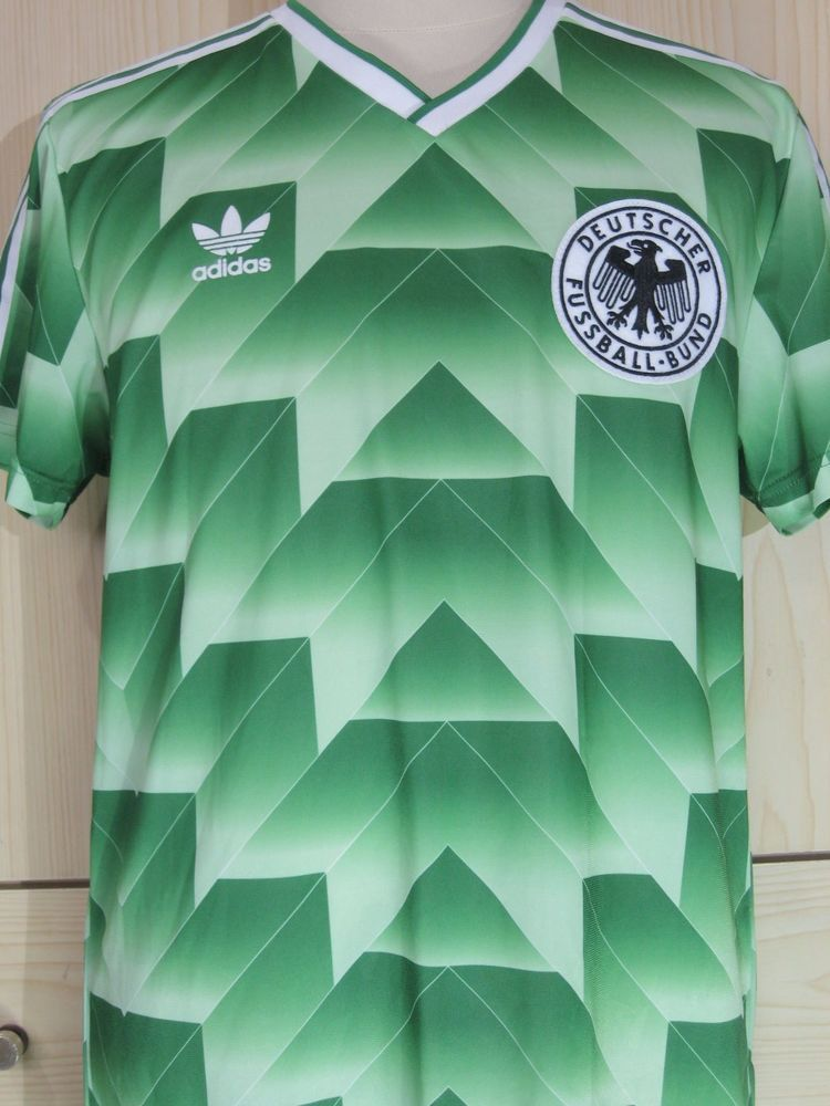 GERMANY WORLD CUP 1990 ADIDAS RETRO HOME VINTAGE FOOTBALL
