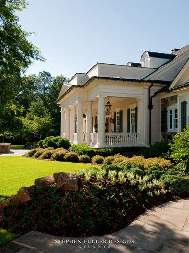 Black Gutters Southern House Plans Traditional Exterior Southern Homes
