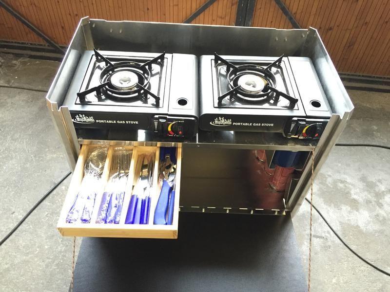 Outdoorküche Klein Wanita : X vision x mobile küchenbox t 4 ausbau camper camping und suv