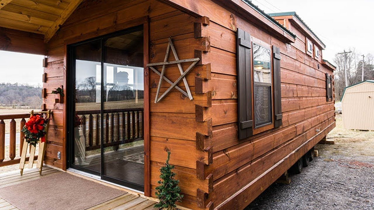 The Log Cabin Park Model Tiny House By Muddy Creek
