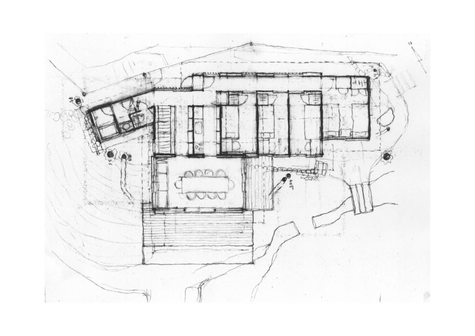 若王子のゲストハウス|横内敏人建築設計事務所