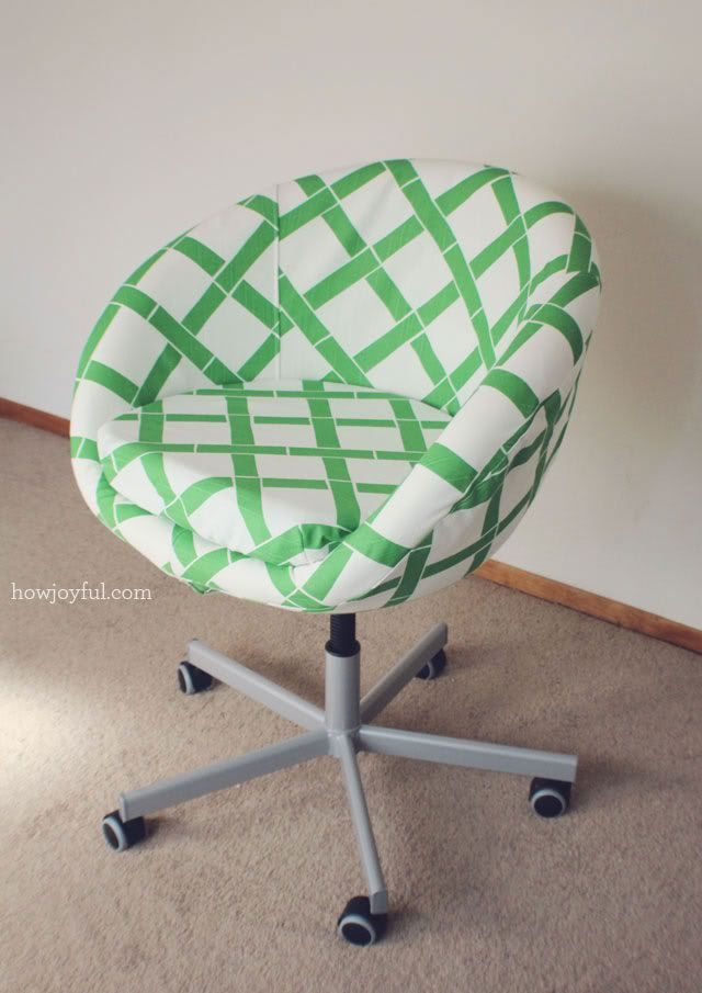 My Studio Ikea Chair Revamp Bureau Ikea Et Chaise