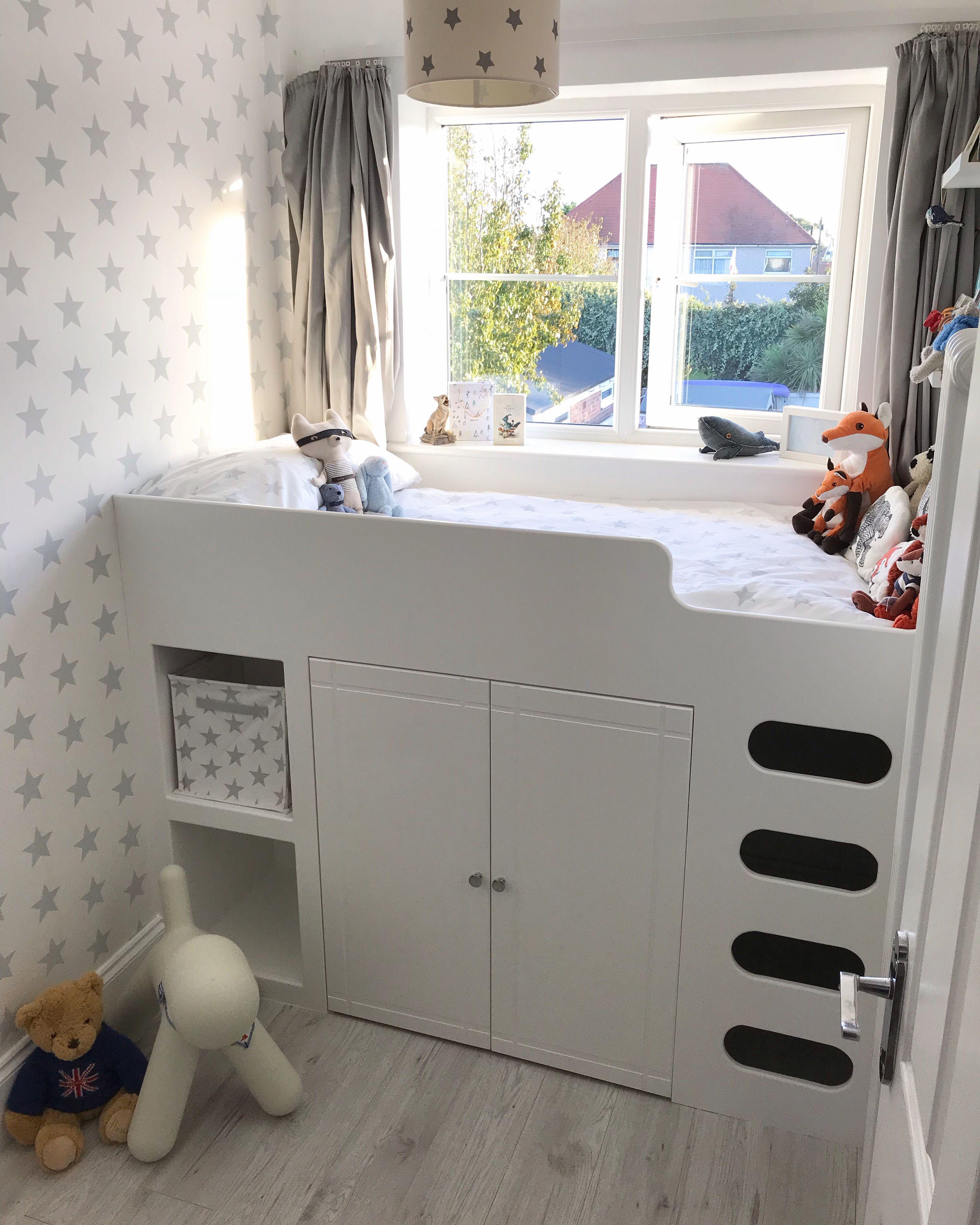 Tates Finished Room Box Room Bedroom Ideas Box Room Bedroom Ideas For Kids Box Bedroom